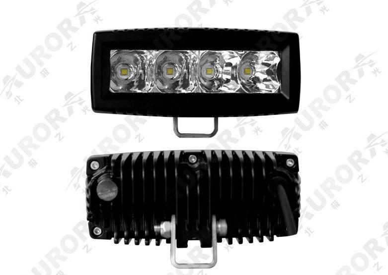 Aurora 4 inch led single row off road light bar flood beam 20w 2200 1010220 aloadofball Gallery