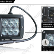 Aurora 2 Inch Working Series Driving Beam Details 30w - Nox Lux