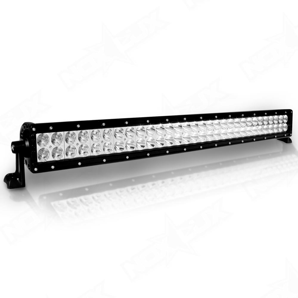30 dual row led light bars nox lux aurora 30 inch dual row light nox lux aloadofball