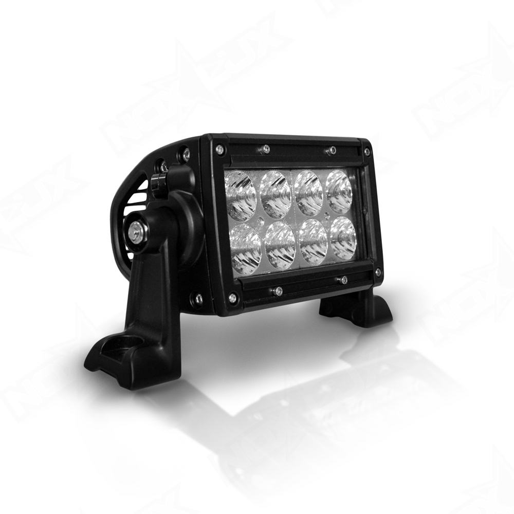 Aurora 4 Inch Dual Row Light Flood Beam Nox-Lux