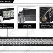 Aurora Dual Row Light Details - Nox Lux