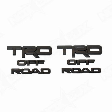 2017 4Runner TRD Off Road Overlays - Nox Lux