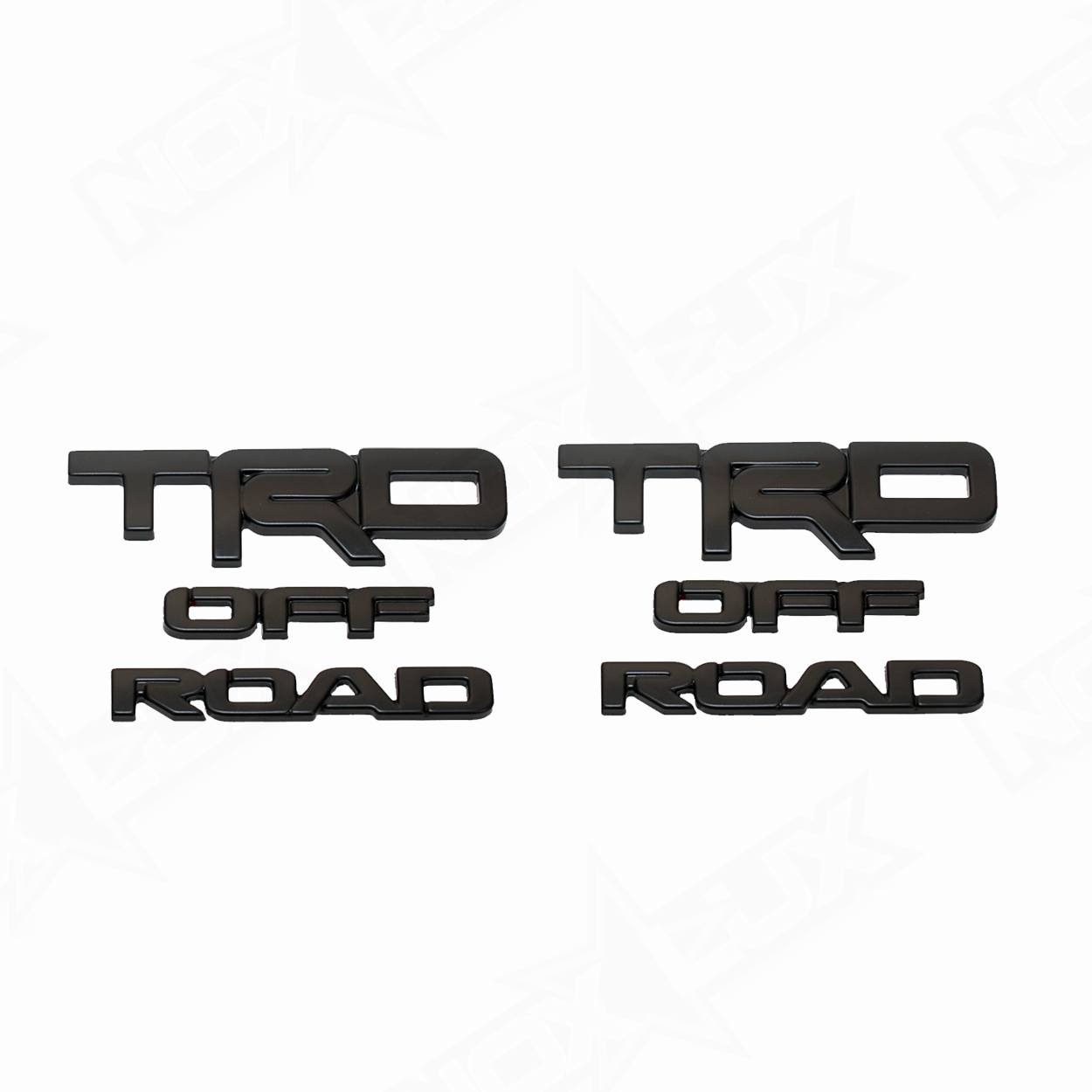 2017 4Runner TRD Off Road Overlays - Nox Lux