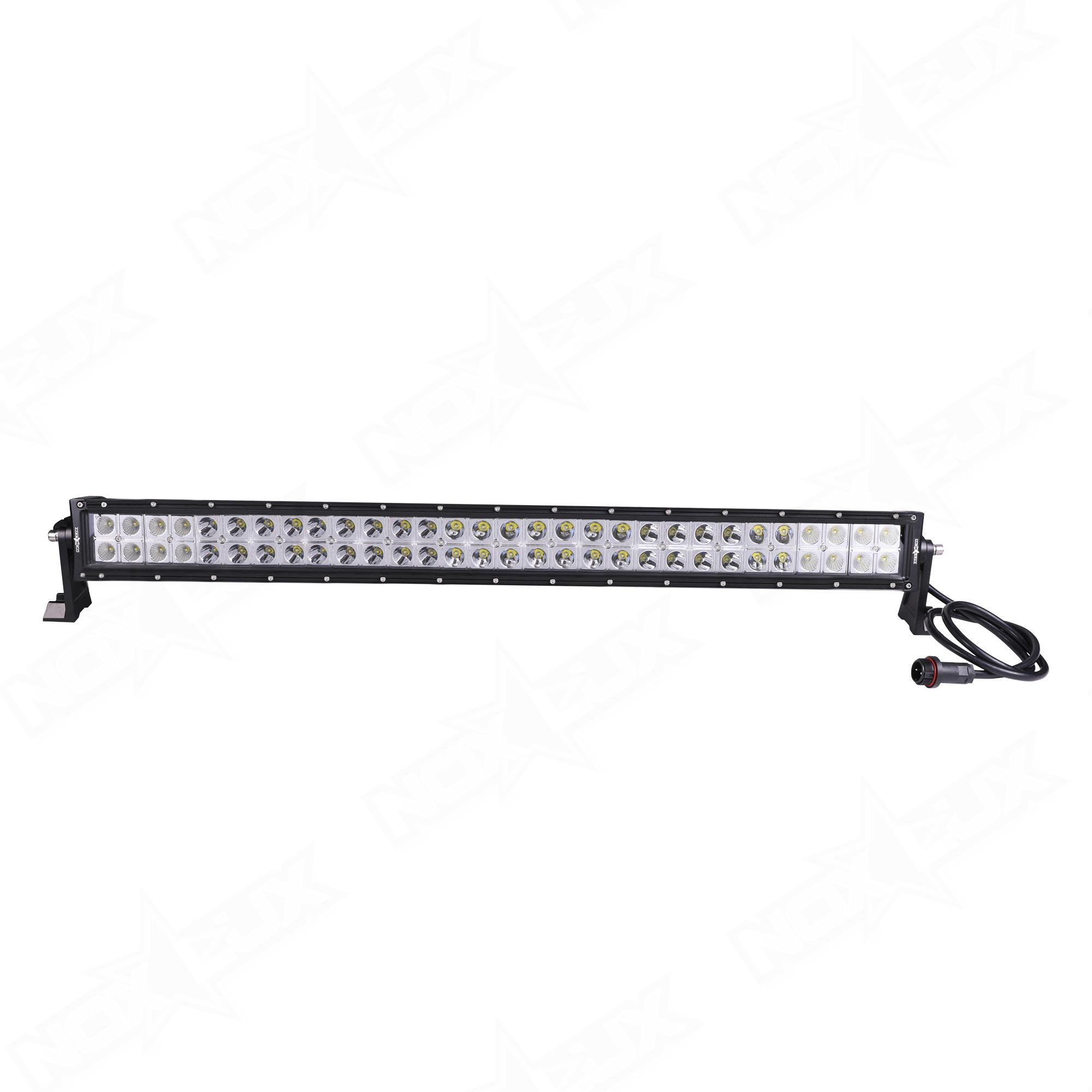Nox lux adds new high tech dual row led light bars to inventory 30 inch dual row light bar combo back nox lux aloadofball Images