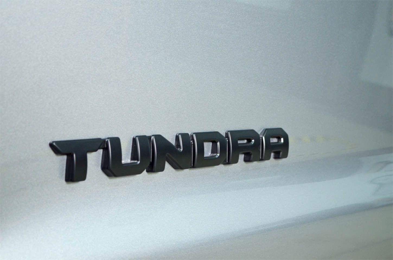 Black Out Emblem Overlay Toyota Tundra SR5 2014-2017