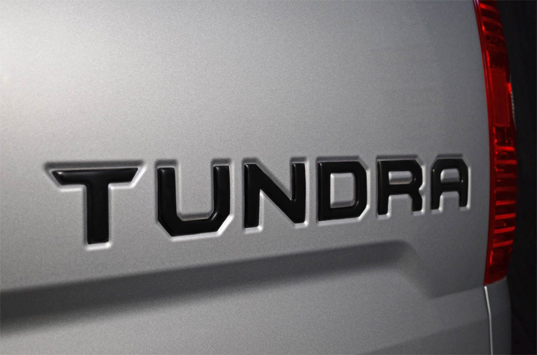 2014 2017 Toyota Tundra Sr5 Emblem Overlay Black Out Kit