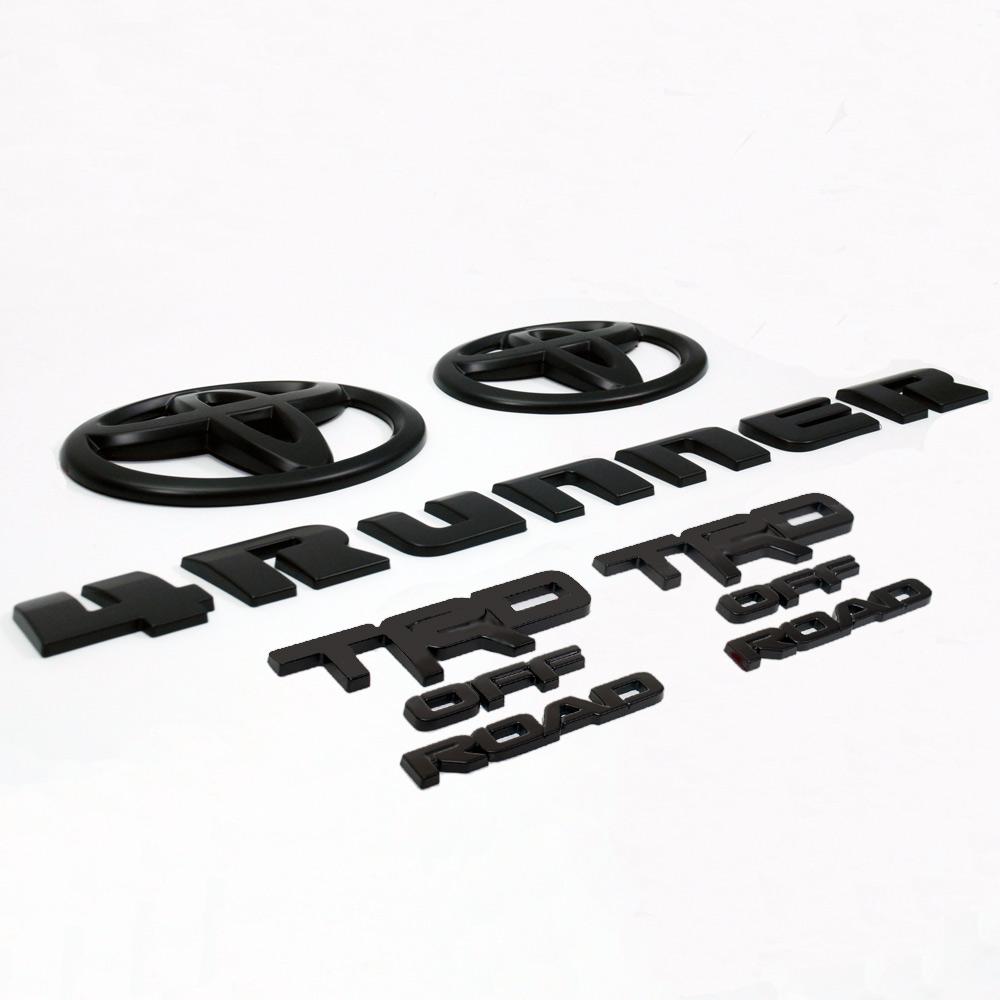 Toyota 4-Runner Emblem Overlays