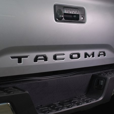 Gloss Black Tailgate Insert for Toyota Tundra 2014 2015 2016 2017 - Nox Lux