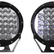 Aurora 7 Inch Round Light BG Front - Nox Lux