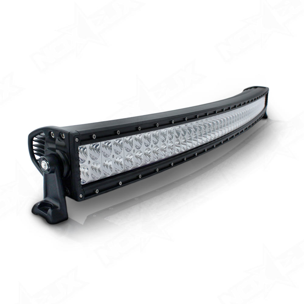 Aurora 50 Inch Dual Row Light Curved - Nox Lux