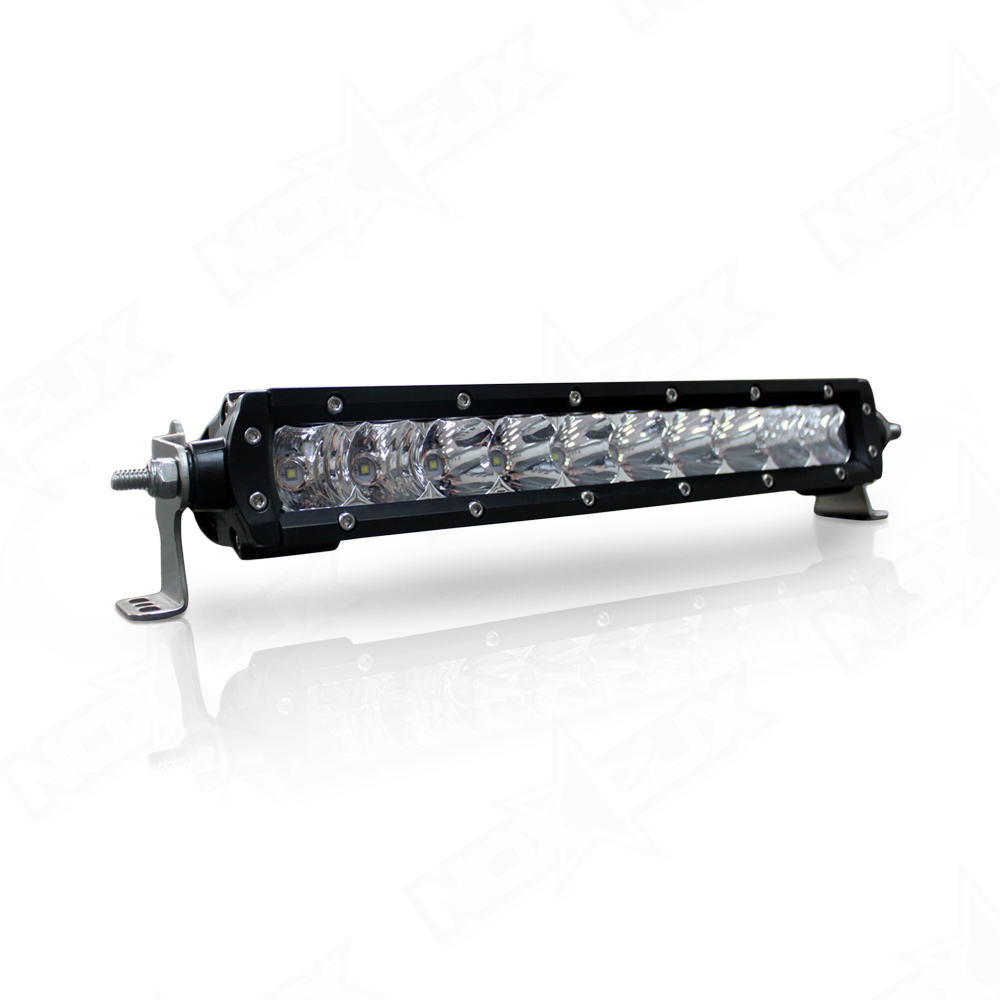 10 single row led light bars nox lux. Black Bedroom Furniture Sets. Home Design Ideas