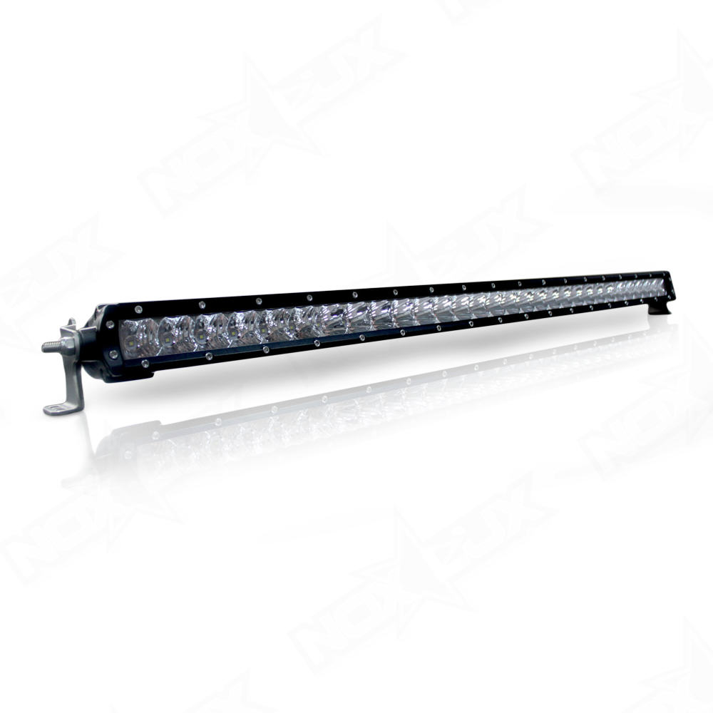 30 inch single row led light bars nox lux. Black Bedroom Furniture Sets. Home Design Ideas