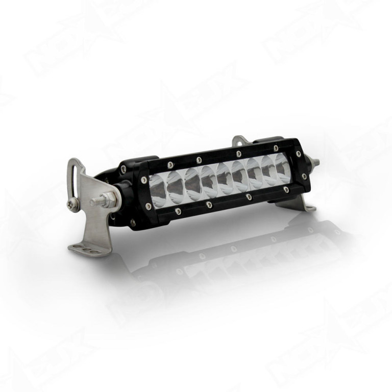 Aurora 6 Inch Single Row Light Driving - Nox Lux