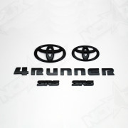 Black Out 4 Runner SR5 Front View 2010-2013 - Nox Lux