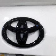 Black Out Corolla Rear Emblem 2014-2016