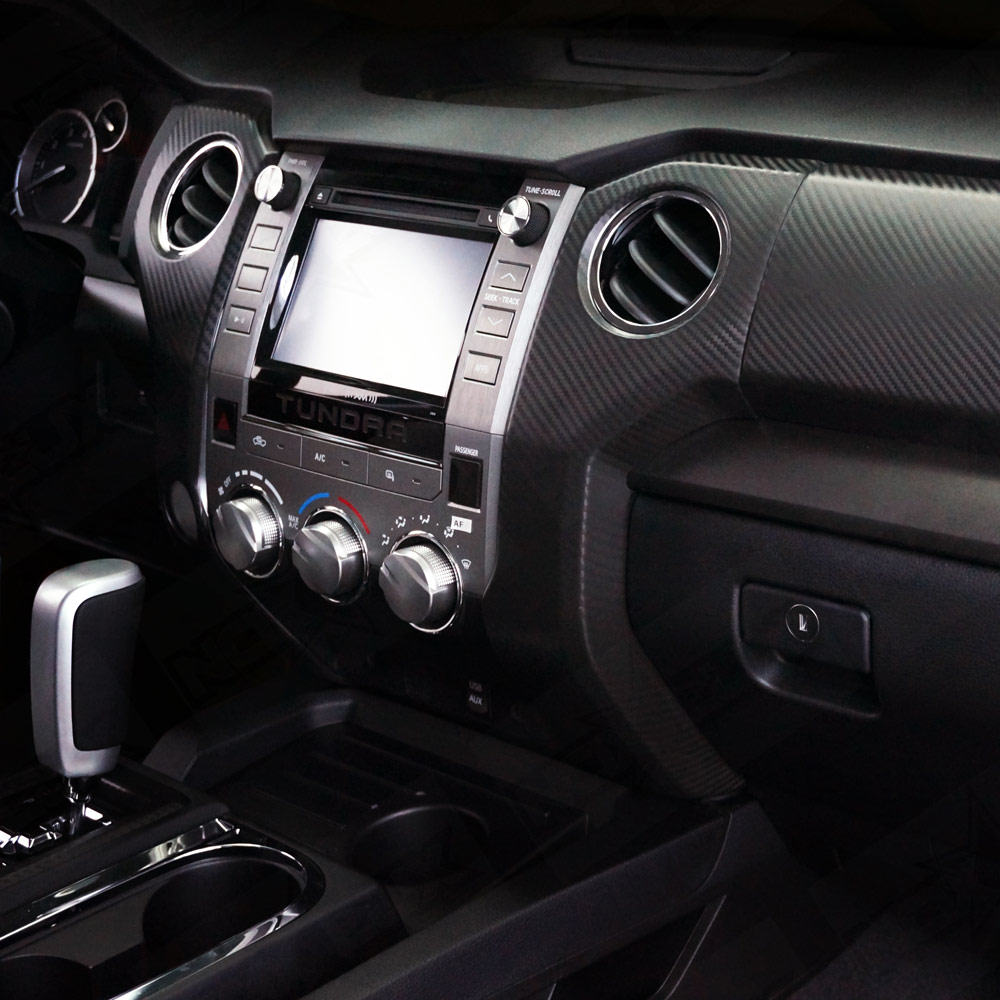 2014-2015 Tundra Molded Carbon Fiber Dash Kit - Nox Lux