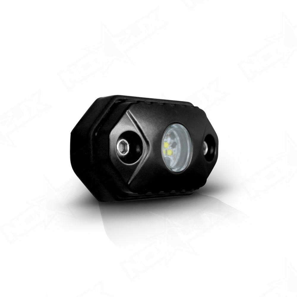 Small Led Lights : Aurora 2 Inch Mini LED Rock Light 9w - Nox Lux