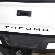 Matte Black 2016-2017 Tacoma Tailgate Insert On Truck - Nox Lux