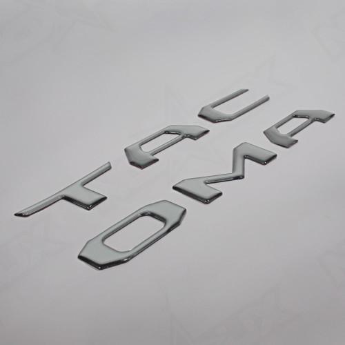 Toyota Tacoma Insert Brushed Aluminum Side 2016 - Nox Lux