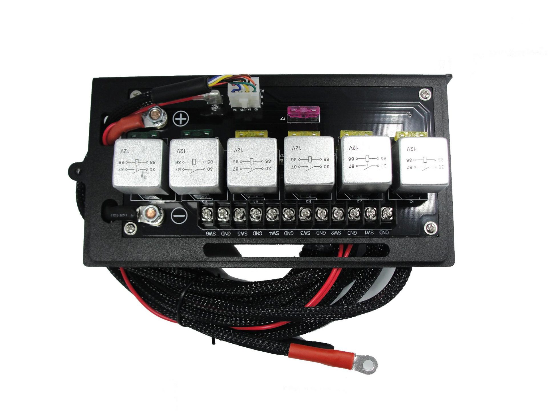 Relay on Relay Switch With Led Light Bar