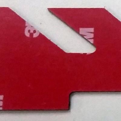 4×4 Raw Real Carbon Fiber Decal/Logo 3 Piece Kit