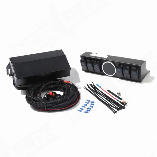 Jeep JK 6 Switch Control Panel System - Nox Lux
