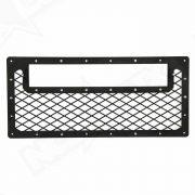 2007-2016 Jeep Wrangler JK Black Out LED Grille Kit Back - Nox Lux