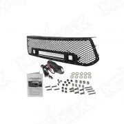 2014 2016 Toyota Tacoma Black Out LED Grille Kit - Nox Lux