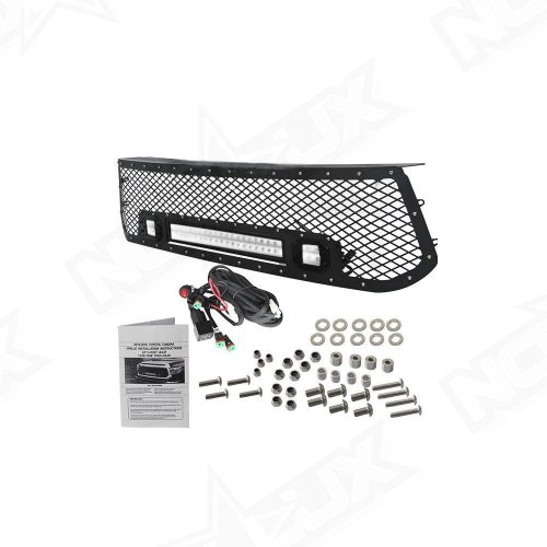 2014 2016 Toyota Tundra Black Out LED Grille Kit - Nox Lux