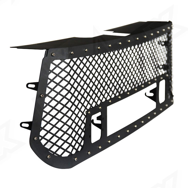 2014-2016 Toyota Tundra Black Out Grille Kit Side - Nox Lux