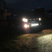 2016 Tundra Bumper Mounts At Night - Nox Lux