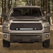 2014-2016 Tundra Flat Grille Kit Black Out In Woods - Nox Lux