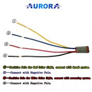 Aurora Small Connector For Reverse/Brake Light