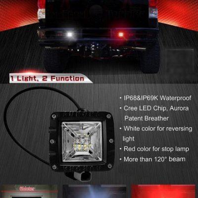 Aurora 2 Inch Backup/Brake Light Details