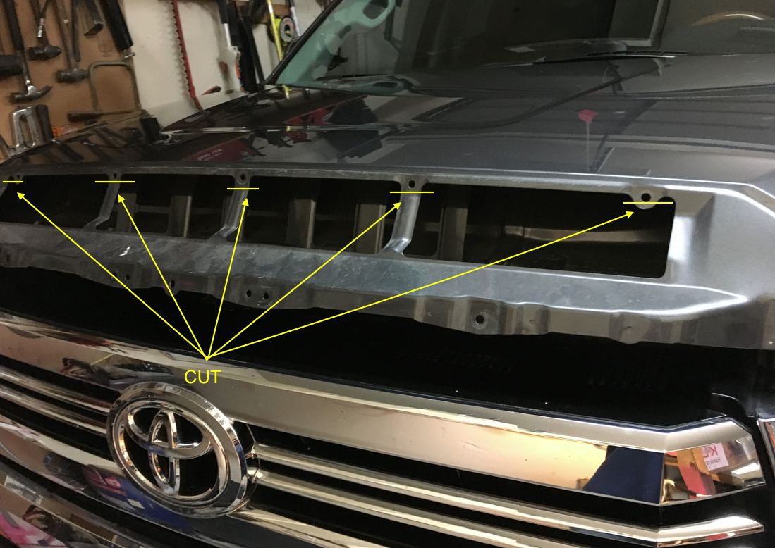 How to Install Toyota Tundra Hidden Hood LED Light Bar - Nox Lux