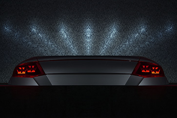 Automotive OLED lights