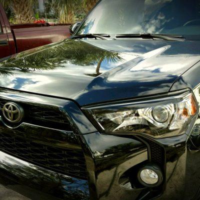 SR5 Toyota 4-runner Black Out Emblems