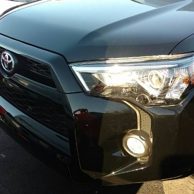 Toyota 4-runner Black Emblems
