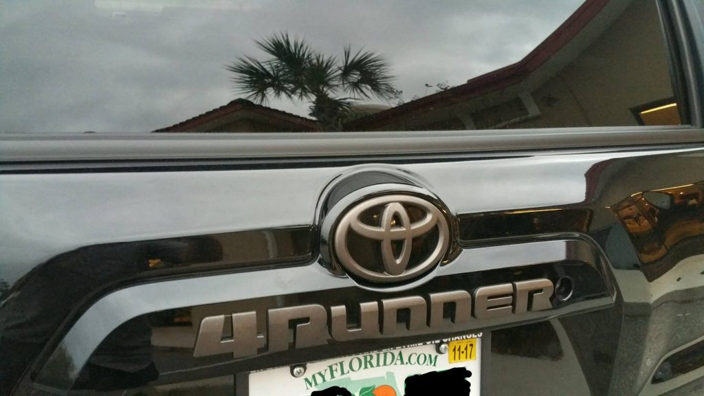 Toyota 4runner Black Decals