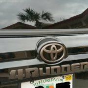 Toyota 4runner Black Decals