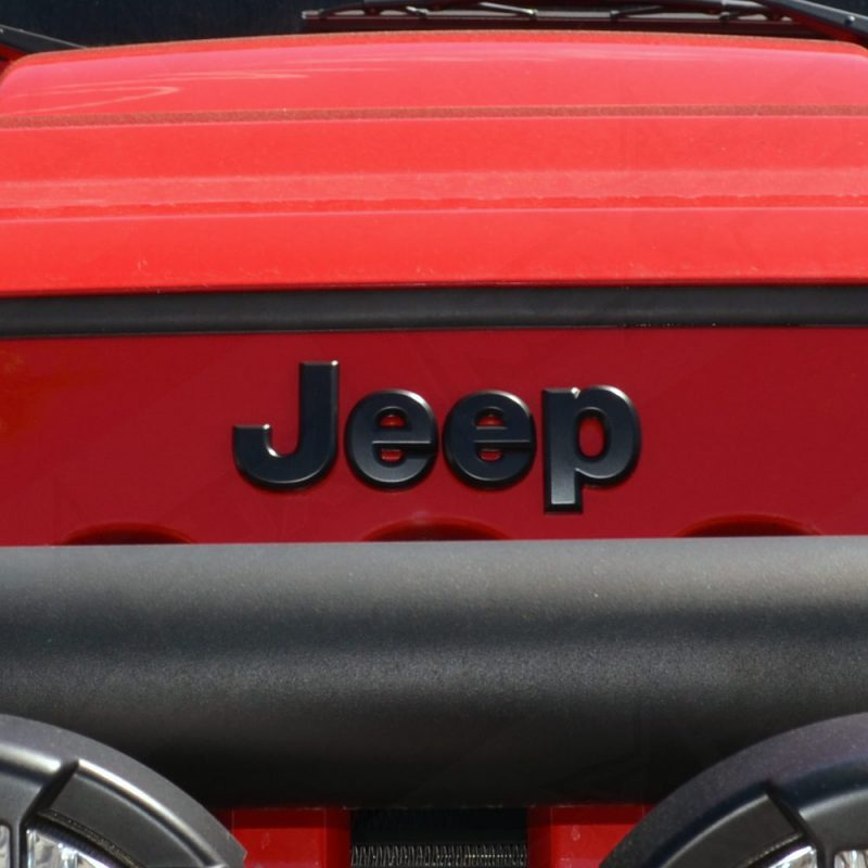 Black Out Emblem Overlay Kit For Jeep JK 2007-2017 - Nox Lux
