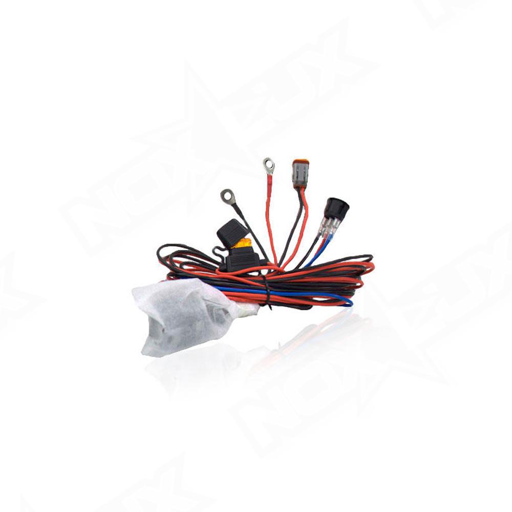Aurora 2 Inch Working Series Wiring Harness - Nox Lux