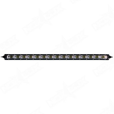 Aurora 30 Inch Single Row Scene LED Light Bar - Nox lux