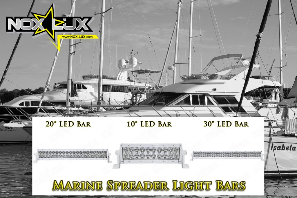 marine led lights for yachts and boats