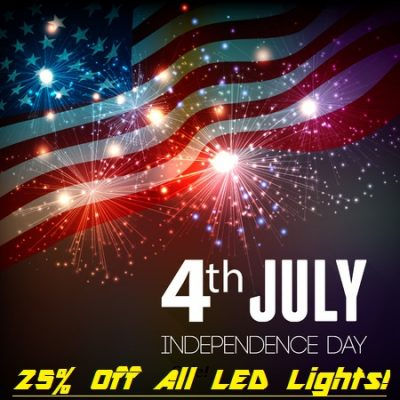 Offroad led light 4th of July Sale