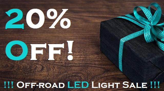 Fathers day offroad led light sale