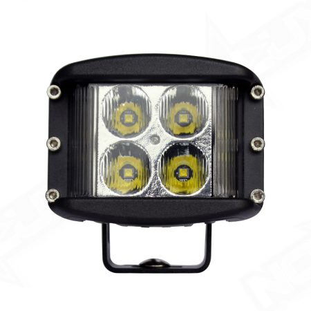 Dually Side Shooter Work Light Front View - Nox Lux