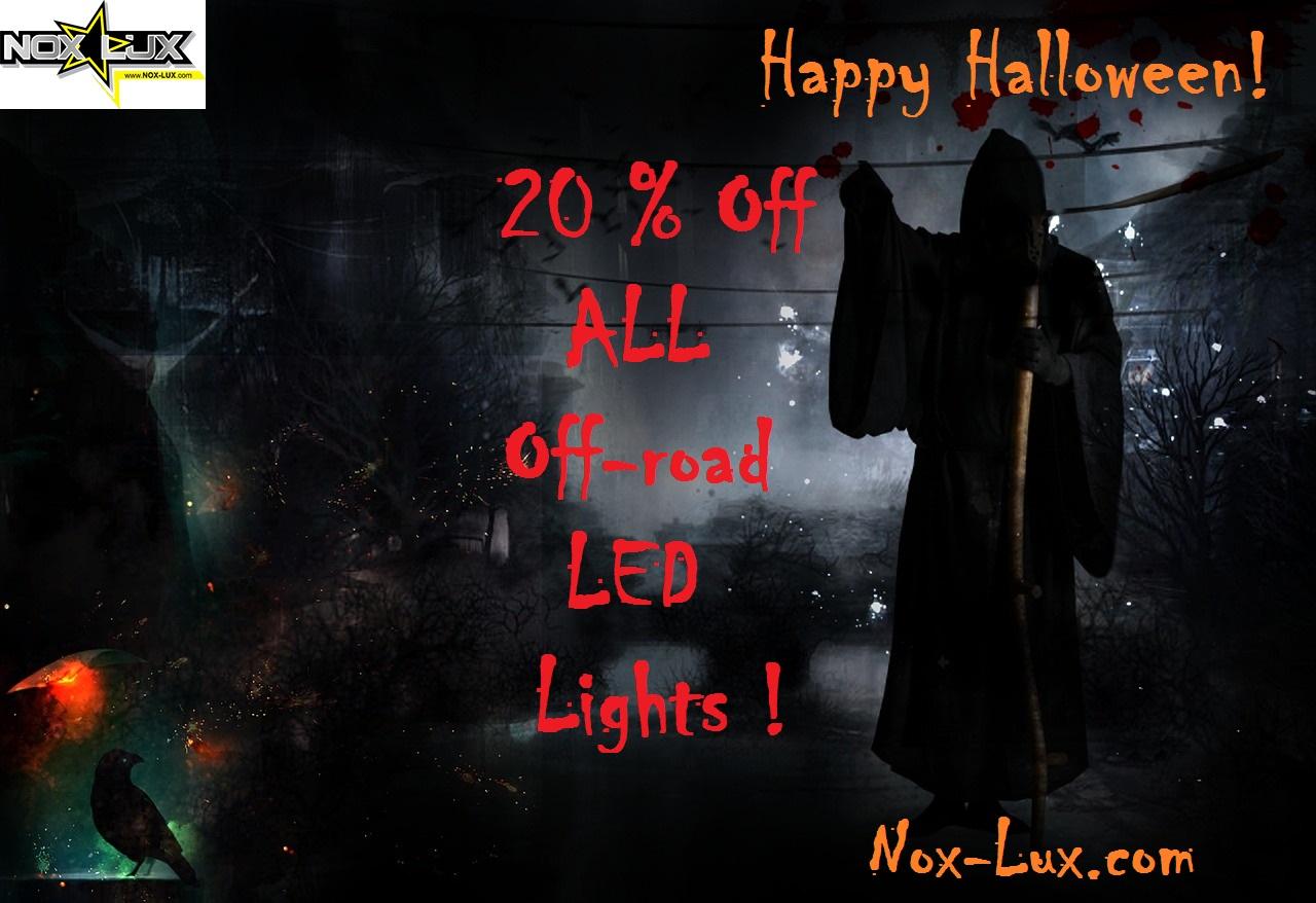 Nox Lux Halloween sale