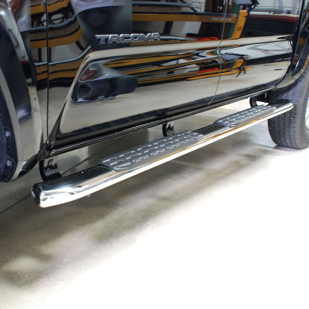 4 Inch Side Step Chrome - Nox Lux