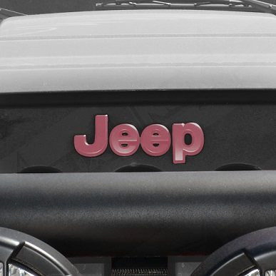 pink Jeep emblem